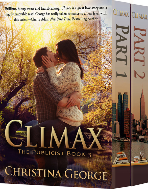 Climax: The Publicist Book 3 Bundled set by Christina George