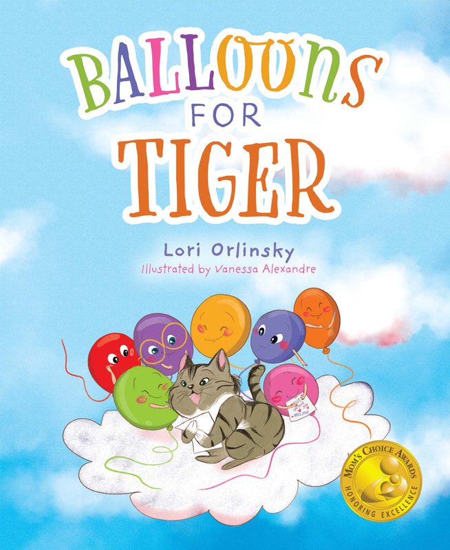 BALLOONS FOR TIGER by Lori Orlinsky