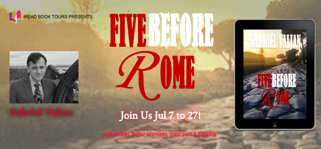 FIVE BEFORE ROME by Gabriel Valjan