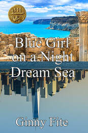 Blue Girl on a Night Deam Sea by Ginny Fite