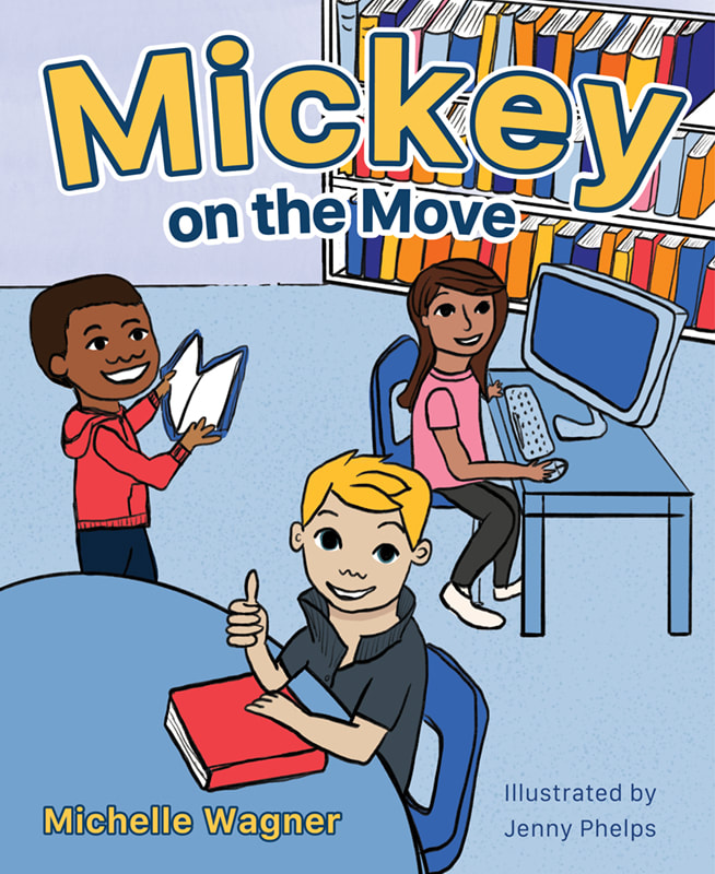 MICKEY ON THE MOVE by Michelle Wagner