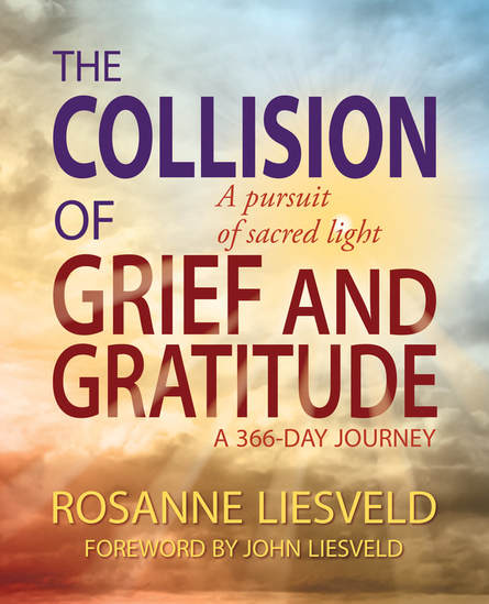 The Collision of Grief and Gratitude by Rosanne Liesveld